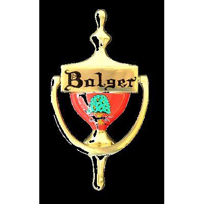 Personalized Irish Coat of Arms DoorKnocker - Brass