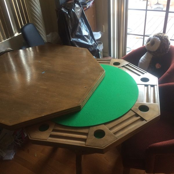 For Sale: Poker Table / Coffee Table for $500
