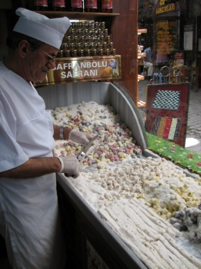 Turkish Delight Shop, Safranbolu, Turkey