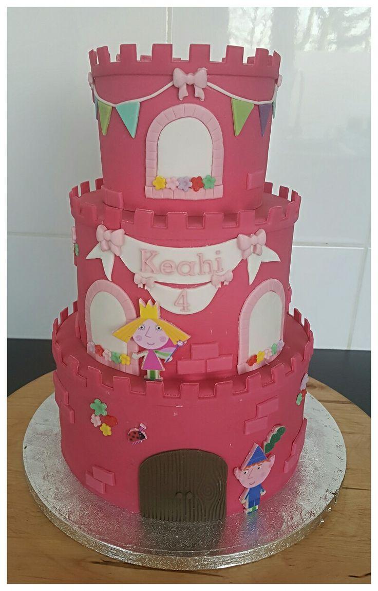 Ben&Holly birthday cake