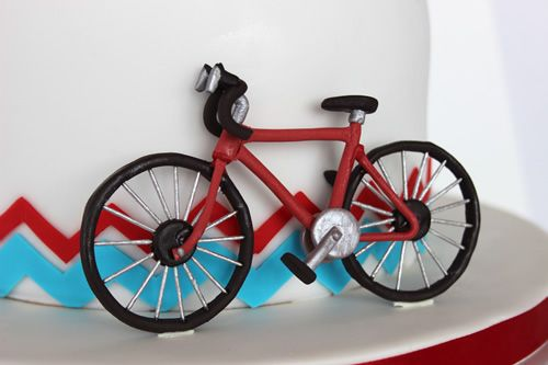 sweetdreamscakeapp: Gumpaste Bicycle Tutorial