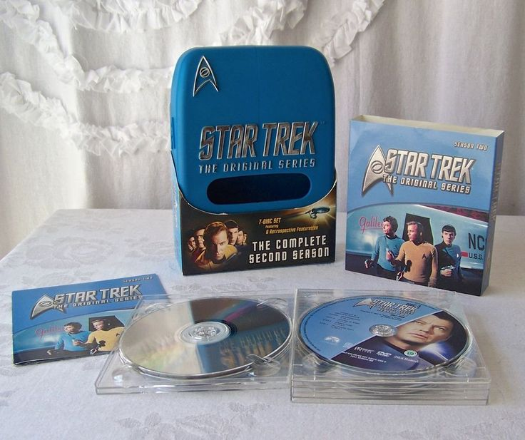 Star Trek Original Series 7 DVD Set Second Season 2004