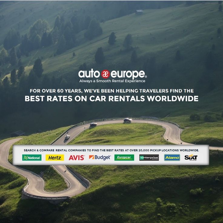 Search & compare car rental suppliers to find the best rates worldwide.  Auto Europe has been trusted by travelers for over 60 years for their rental car needs.