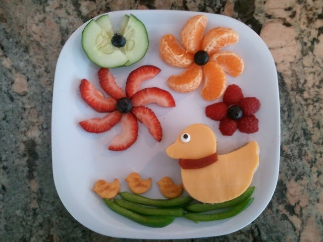 Happy food perfect for the little peeps in your life!