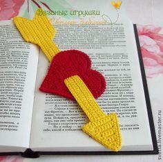 señalador de libros en crochet - Buscar con Google