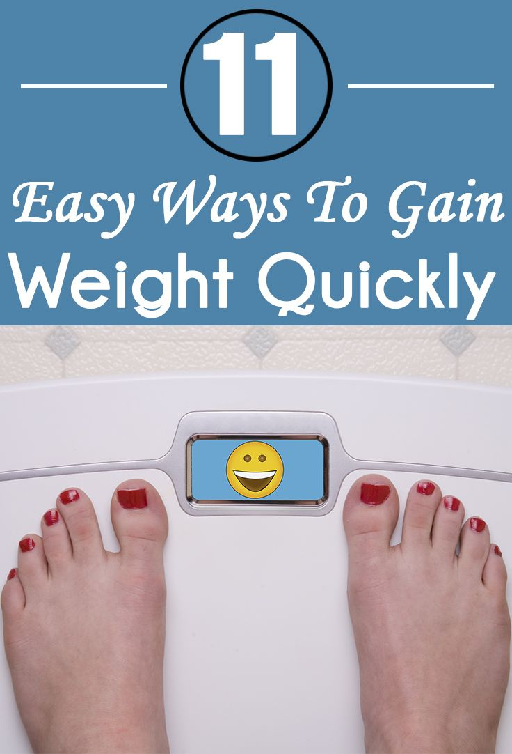 There are quite a number of thin and skinny women in the world who want to know how to gain weight quickly! Here are 11 easy ways that can help you to gain weight
