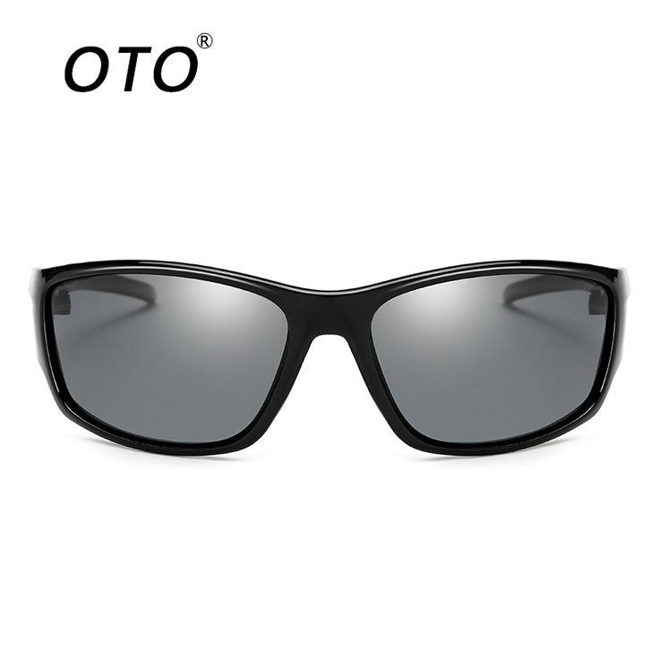 OTO New High Quality Men's Polarized Sunglasses Plastic Frame Car Driving Sun Glasses UV400 Polarised Goggle Style Eyewear P570