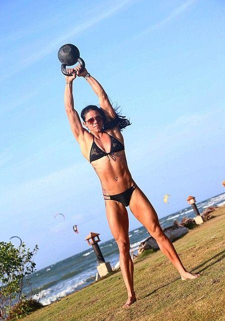 Chyna Cho kettlebell swings. | CrossFit & Fitness ...