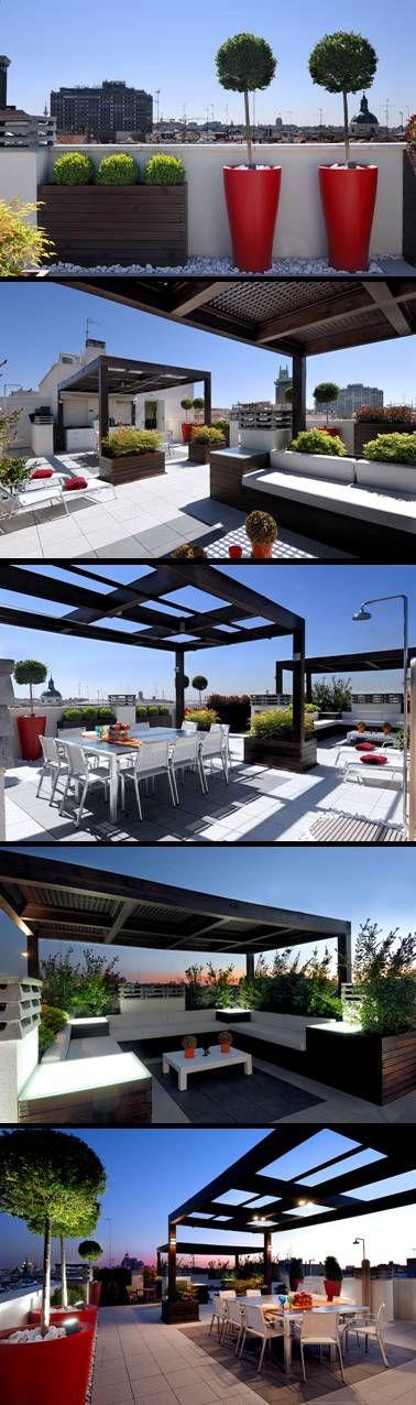 Proyecto integrado en la ciudad de Madrid.  El mobiliario y la iluminación se…