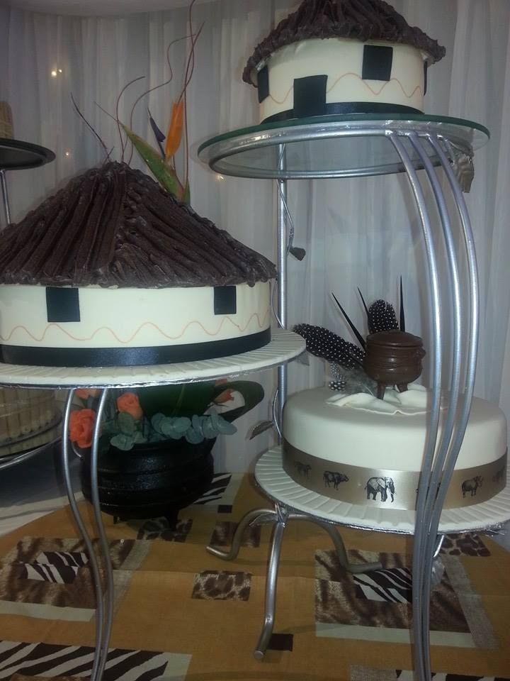 Traditional African wedding cake from Bread Ahead Cowey Road ( Stand not included)