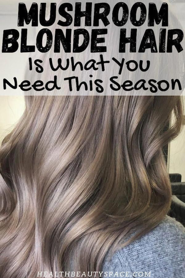 15+ Mushroom blonde hair color ideas info