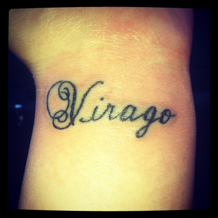 Virago (Origin:Latin)- A Woman Of Great Inner Strength Or