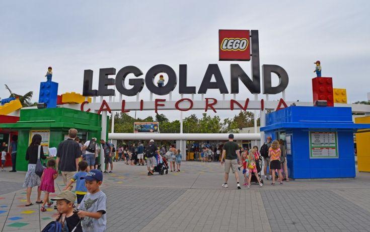 Perfect Day at LEGOLAND California - Entrance