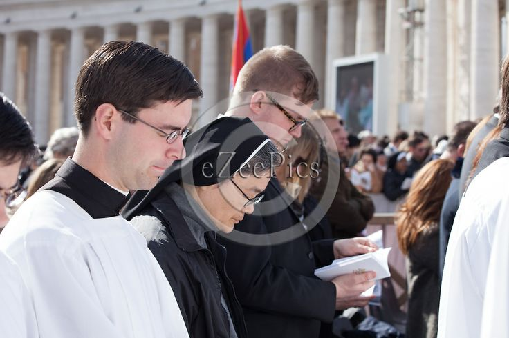 ROME, ITALY - MARCH 19, 2013: Pope Francis inauguration  mass. Files for Editorial Use Only cannot be used for any commercial purposes...