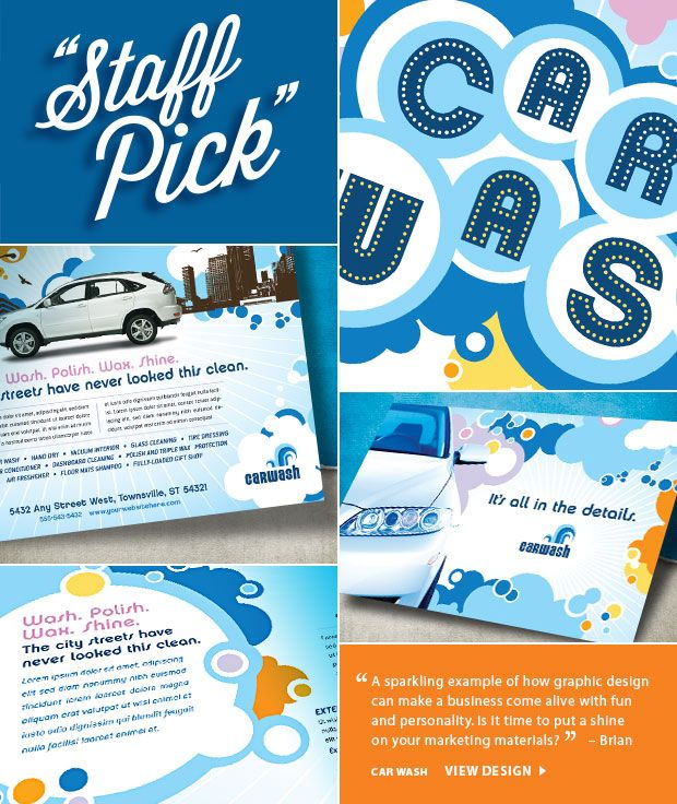11 best cae wash images on pinterest advertising vintage logos spotlight on a car wash design a sparkling example of how graphic design can make any business come alive with fun and personality solutioingenieria Choice Image