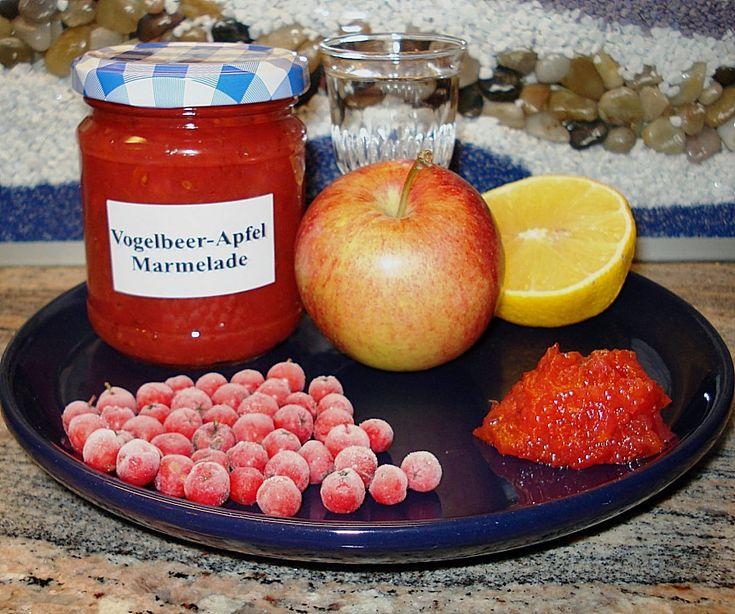 Vogelbeer - Apfelmarmelade, ein sehr schönes Rezept aus der Kategorie Österreich. Bewertungen: 11. Durchschnitt: Ø 3,9.
