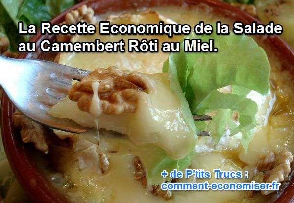 Vous en avez marre de la traditionnelle salade aux chèvres chauds ? Même si elle est délicieuse, vos papilles réclament de la nouveauté.  Découvrez l'astuce ici : http://www.comment-economiser.fr/recette-pas-chere-salade-camembert-roti-miel.html?utm_content=buffer3b0ea&utm_medium=social&utm_source=pinterest.com&utm_campaign=buffer