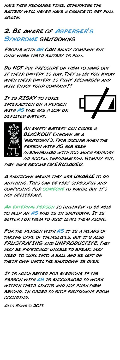 I don't have AS, but this describes me to a tee. More shutdowns please - phone is on silent.