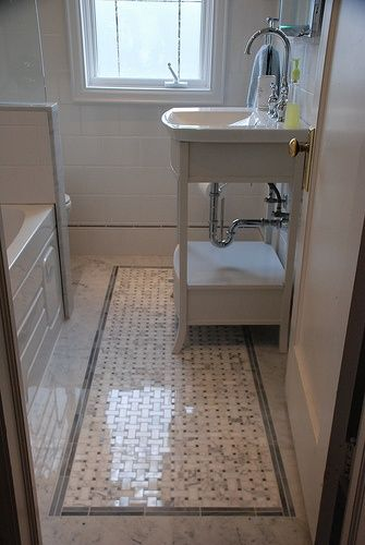 great for small bathrooms or for a vintage look