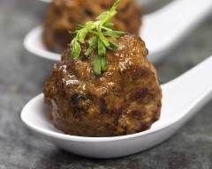 Boulettes apéritives bœuf et chorizo