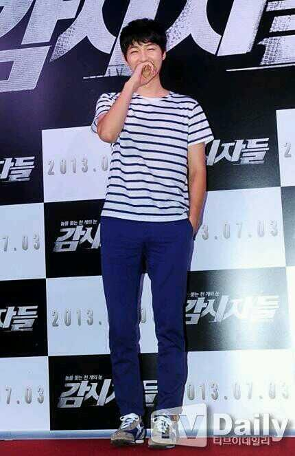 Song Joong Ki at Cold Eyes [2PM Junho's movie] Premiere *1