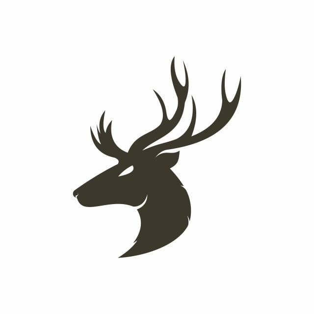 Deer Head Logo Deer Head Clipart Horns Natural Png And Vector With Transparent Background For Free Download Deer Vector Deer Deer Head