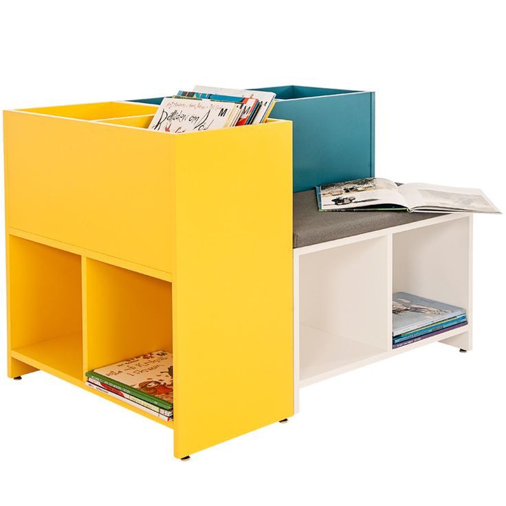 ELLA AND THEO Ella & Theo 's book- and sit-tray, can be combined in all possible directions to get creative and fun storage in a small space .