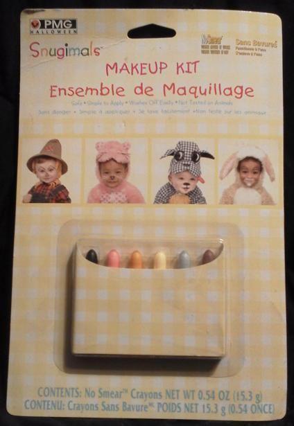 Snugimals Kids Halloween Makeup Kit, New!!! #PaperMagic