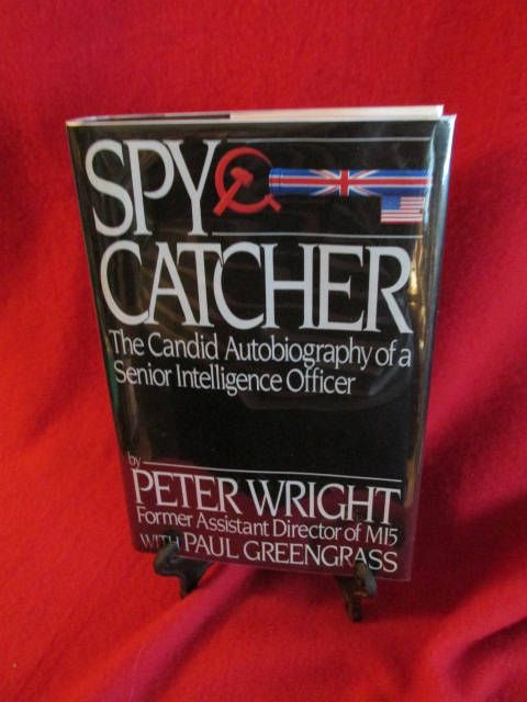 """Autobiography by Peter Wright """"Spycatcher"""" by TheBookE on Etsy"""