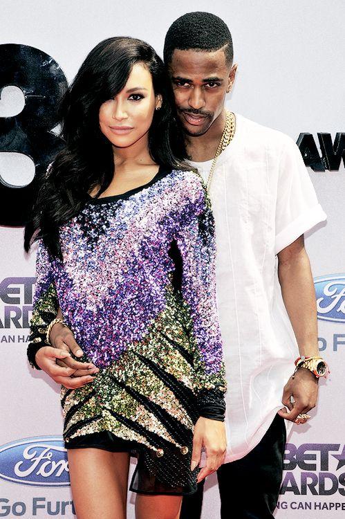 Naya & Sean at the Bet Awards 2013