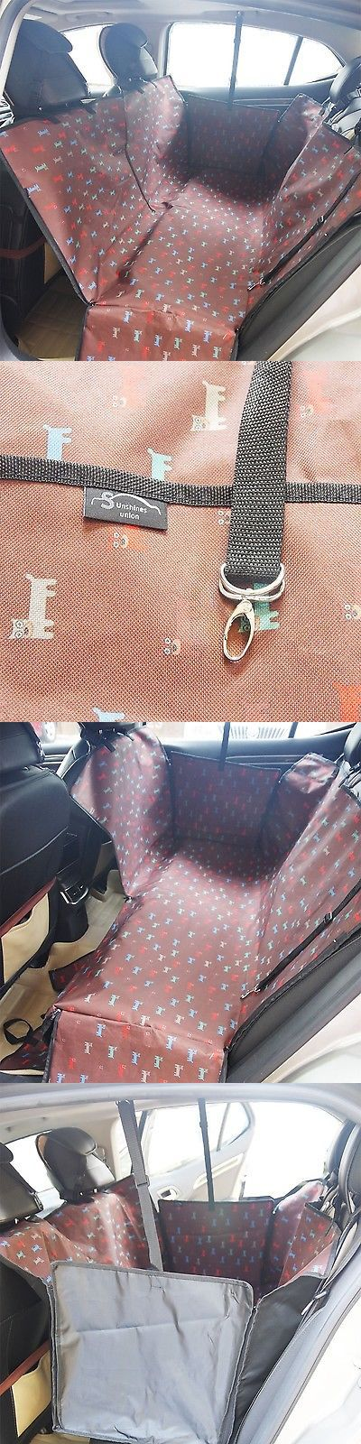 Car Seat Covers 117426: Waterproof Dog Car Seat Cover Backseat Large Pet Seat Cover Hammock Mat F... New BUY IT NOW ONLY: $31.0