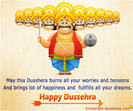 Happy Dusshera.