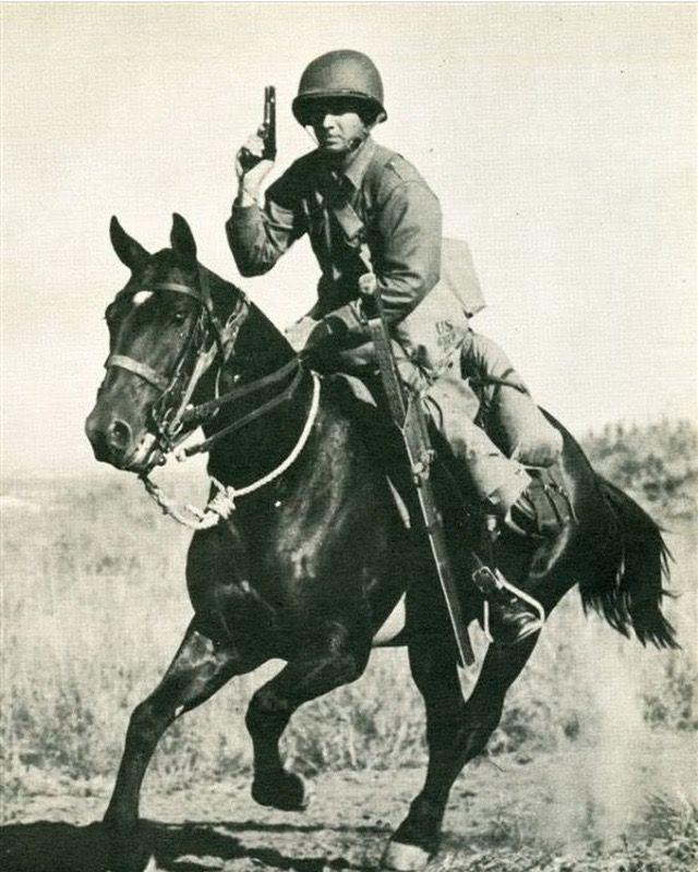 US Army cavalryman c. 1941