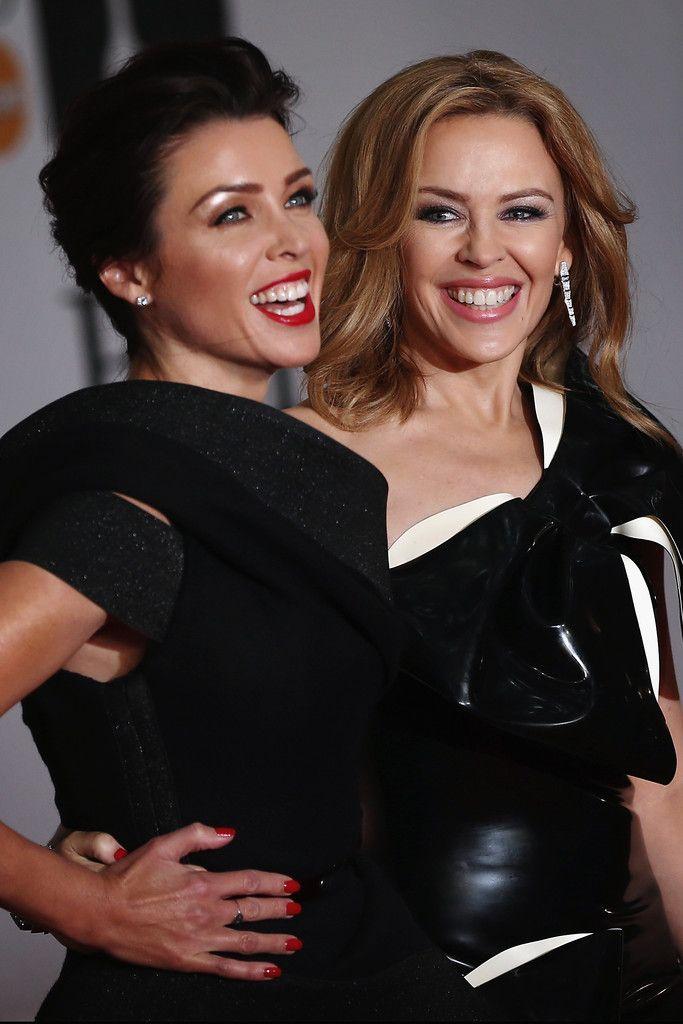 19.02.14 Kylie Minogue & Dannii Minogue At The 2014 BRIT Awards #KM2014 #DM2014 #TheBritAwards2014