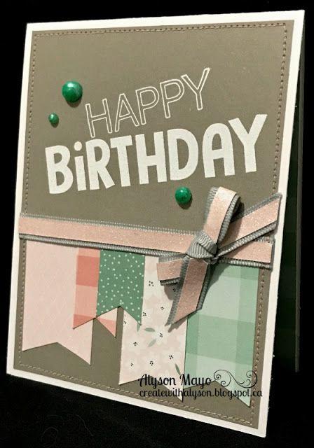 Birthday tag card
