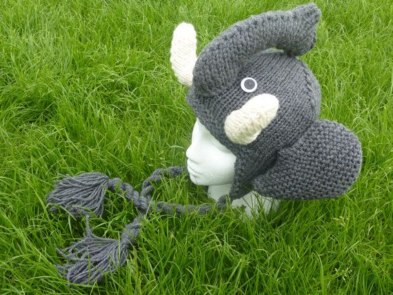Knitting Pattern For Elephant Hat : 17 Best images about GoThIc and StEaMPuNk on Pinterest Spring sale, Knitted...