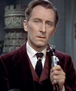 Peter Cushing as Dr Van Helsing in Horror of Dracula (1958)