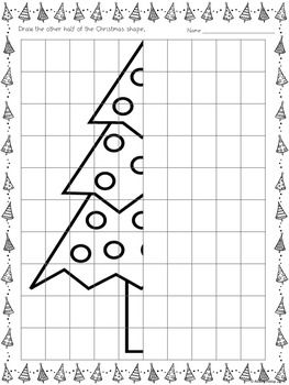 Most Popular Teaching Resources: Christmas Patterns and Symmetry Worksheets