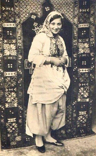 Turkish women from a village, east Anatolia 1935.