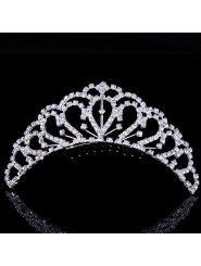 Gorgeous Alloy and Rhinestiones Wedding Tiara/Combs