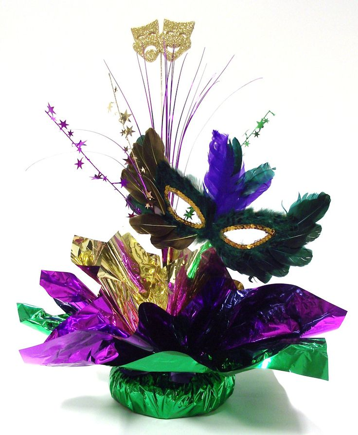 Diy Masquerade Centerpiece Kit Who Needs A Decorator It