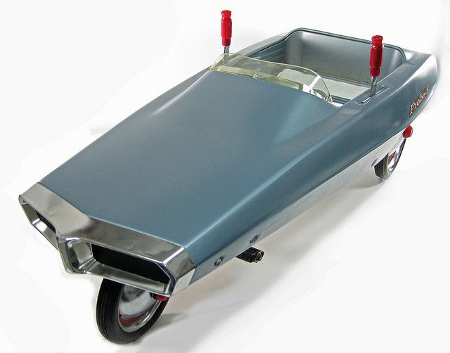 Three wheeled Ford Probe 3 pedal car by American Machine Foundry (AMF), 1969-1970