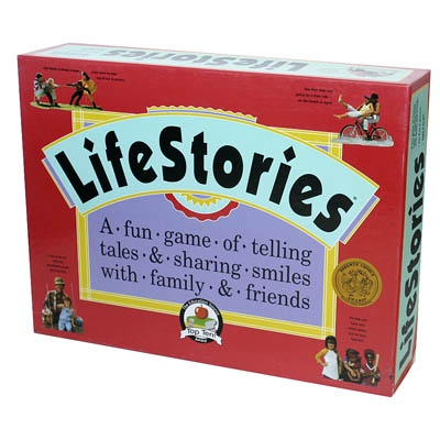 LifeStories Game makes a great tool for stimulating recall of episodic and long-term declarative memory.