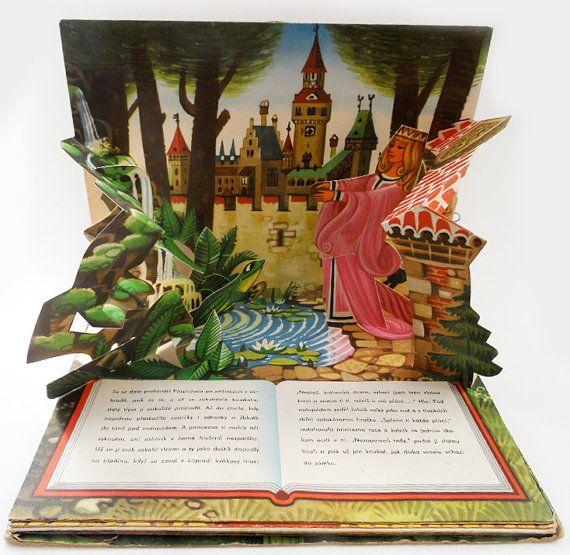 Children's book  Czechoslovakia Signed Kubasta Zabi Kral, The Frog Prince