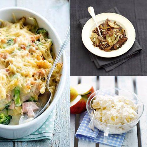 3 recettes faciles à cuisiner avec des produits de saison.pour vous régaler en famille !  Le wok de boeuf sauté aux petits oignons et au sésame, le gratiné de brocolis au jambon blanc et fromage de montagne et mousse au fromage blanc ...Bon week-end ! http://www.bistrot.fr