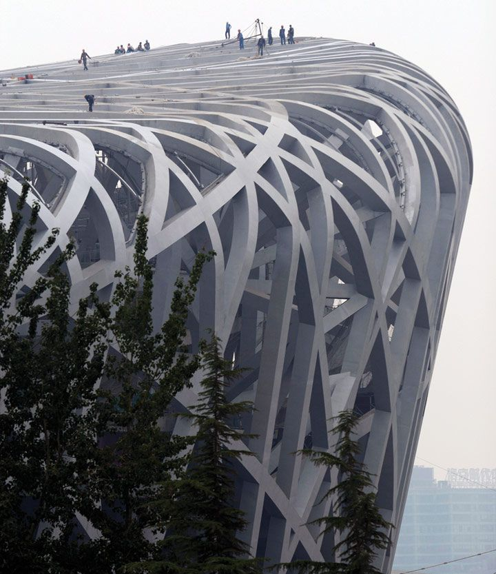 "Beijing National Stadium, ""Bird's Nest""/ Beijing, China, 2003-7 /  Herzog & de Meuron, ArupSport, China Architectural Design & Research Group,  Ai Weiwei (Artistic consultant)"
