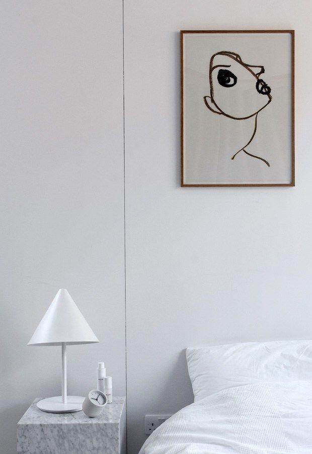 MENU | Plinth, Tumbler Alarm Clock and Conic Table Lamp