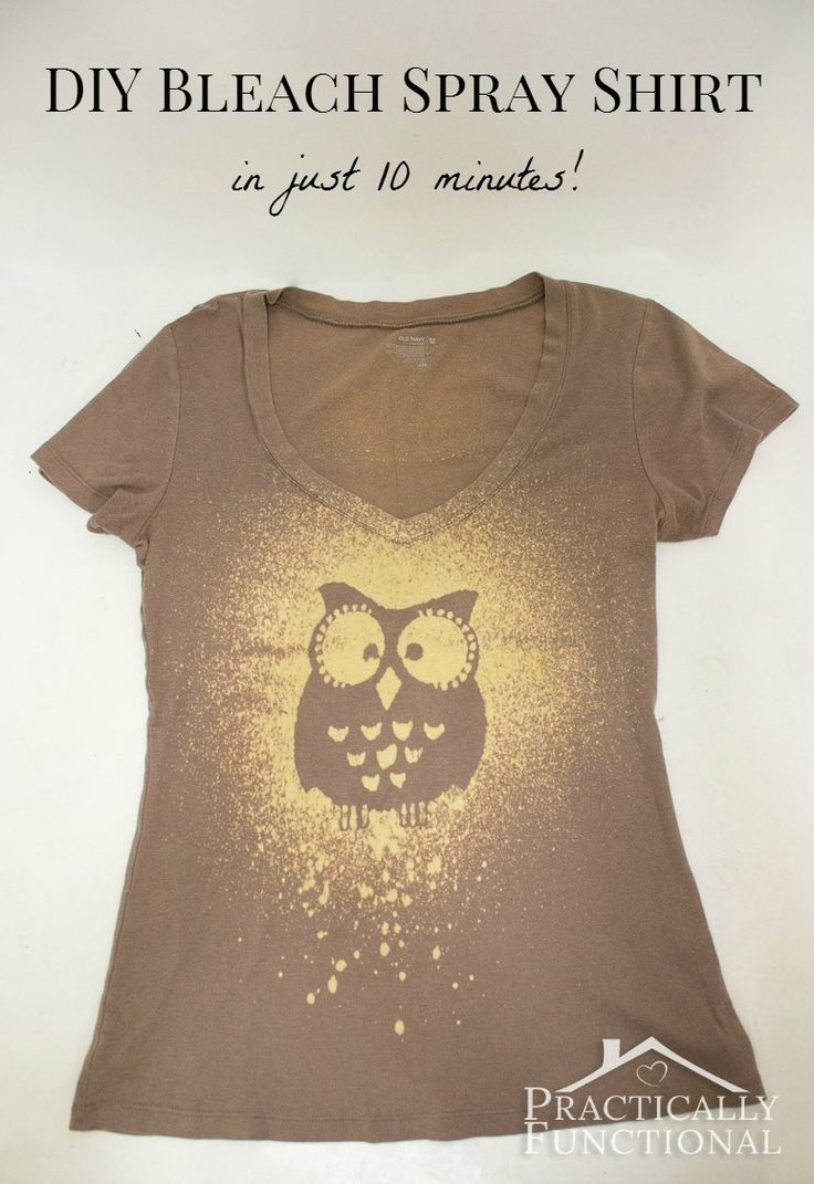 Design your own t shirt las vegas - Make Your Own Bleach Spray Shirt In Just 10 Minutes