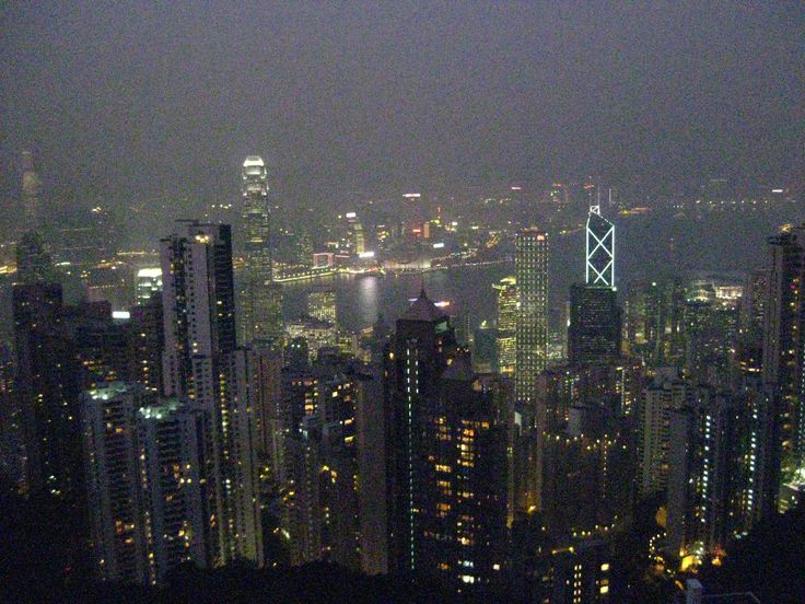 HK at night