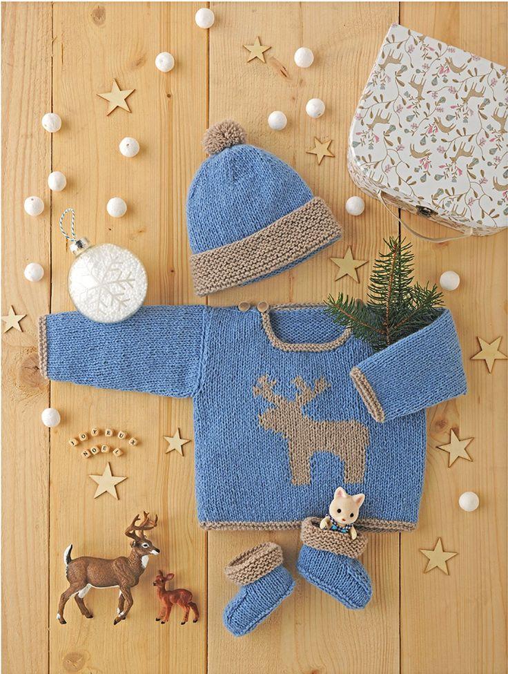 patron tricot layette pour bébé